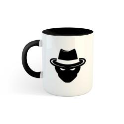 Mug BG black h&h