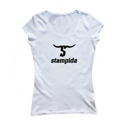 T-shirt Stamp girl logo 01